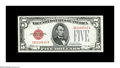 Small Size:Legal Tender Notes, Fr. 1529 $5 1928D Legal Tender Note. Gem Crisp Uncirculated.. A lovely example with great color and more than adequate cente...