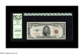Small Size:Legal Tender Notes, Fr. 1532 $5 1953 Legal Tender Note. PCGS Very Choice New 64PPQ.. This single digit red seal bears serial number A00000006A. ...
