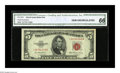 Small Size:Legal Tender Notes, Fr. 1532* $5 1953 Legal Tender Note. CGA Gem Uncirculated 66.. This is the highest numerical grade for this series that we h...