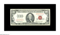 Small Size:Legal Tender Notes, Fr. 1550 $100 1966 Legal Tender Note. Gem Crisp Uncirculated.. This broadly margined Legal Tender boasts a vivid red overpri...