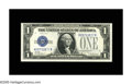 Small Size:Silver Certificates, Fr. 1603 $1 1928C Silver Certificate. Crisp Uncirculated+.. This H-B block also suffers from a tight top margin, but exhibit...