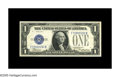 Small Size:Silver Certificates, Fr. 1605 $1 1928E Silver Certificate. Gem Crisp Uncirculated.. This pleasing, attractive key example which is the 181st note...