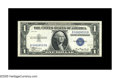 Small Size:Silver Certificates, Fr. 1607 $1 1935 B-B Block Experimental Silver Certificate. Gem Crisp Uncirculated.. This is the scarcest of of these experi...