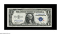 Small Size:Silver Certificates, Fr. 1609 $1 1935A R Silver Certificate. Gem Crisp Uncirculated.. This regular paper experimental has very even margins with ...