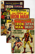 Silver Age (1956-1969):Superhero, Tales of Suspense Group (Marvel, 1963-65) Condition: Average GD/VG....