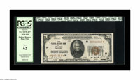 Fr. 1870-H* $20 1929 Federal Reserve Bank Star Note. PCGS New 62. With only 24,000 notes printed, this certainly is a sc...
