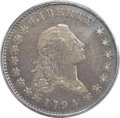Early Half Dollars, 1794 50C O-101a, T-7, High R.3, Fine 12 PCGS....