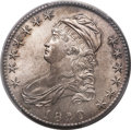 Bust Half Dollars, 1820/19 50C Square Base 2, O-101, R.2, MS65 PCGS Secure....