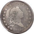 Early Half Dollars, 1794 50C O-105, T-3, R.5, Fine 12 PCGS Secure....