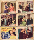 "Movie Posters:Crime, Girl from Rio & Other Lot (Monogram, 1939). Tile Lobby Card& Lobby Cards (8) (11"" X 14"") &. Crime.. ... (Total: 9Items)"