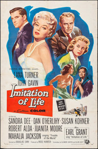 "Imitation of Life (Universal International, 1959). One Sheet (27"" X 41""). Drama. ... (Total: 01 Item)"