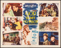 "Movie Posters:War, God Is My Co-Pilot (Warner Brothers, 1945). Half Sheet (22"" X 28"").War.. ..."