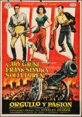 "Movie Posters:Adventure, The Pride and the Passion (United Artists, 1958). Spanish One Sheet (27"" X 39""). Adventure.. ..."