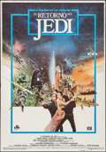 """Movie Posters:Science Fiction, Return of the Jedi (20th Century Fox, 1983). Spanish One Sheet (27""""X 39.5""""). Science Fiction.. ..."""
