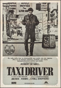 """Movie Posters:Crime, Taxi Driver (Filmayer, 1977). Spanish One Sheet (27"""" X 39"""").Crime.. ..."""