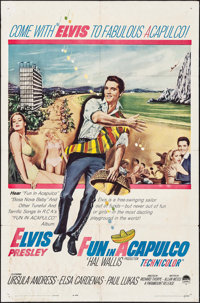 "Fun in Acapulco (Paramount, 1963). One Sheet (27"" X 41""). Elvis Presley"