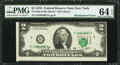 Error Notes:Miscellaneous Errors, Fr. 1935-B $2 1976 Federal Reserve Note. PMG Choice Uncirculated 64 EPQ.. ...