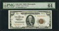Fr. 1890-I $100 1929 Federal Reserve Bank Note. PMG Choice Uncirculated 64 EPQ