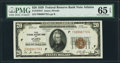 Small Size:Federal Reserve Bank Notes, Fr. 1870-F $20 1929 Federal Reserve Bank Note. PMG Gem Uncirculated 65 EPQ.. ...