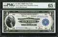 Fr. 713 $1 1918 Federal Reserve Bank Note PMG Gem Uncirculated 65 EPQ