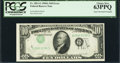 Error Notes:Inverted Third Printings, Fr. 2011-G $10 1950A Federal Reserve Note. PCGS Choice New 63PPQ.....