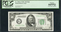 Small Size:Federal Reserve Notes, Fr. 2105-G $50 1934C Mule Federal Reserve Note. PCGS Gem New 66PPQ.. ...