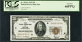 Small Size:Federal Reserve Bank Notes, Fr. 1870-A $20 1929 Federal Reserve Bank Note. PCGS Gem New 66PPQ.. ...