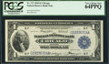 Fr. 727 $1 1918 Federal Reserve Bank Note PCGS Very Choice New 64PPQ