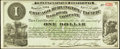 Obsoletes By State:Iowa, Newton, IA- Chicago, Burlington and Pacific Rail Road Company $1 Apr. 1, 1882 . ...