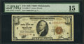 Small Size:Federal Reserve Bank Notes, Fr. 1860-C* $10 1929 Federal Reserve Bank Note. PMG Choice Fine 15.. ...