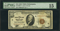 Fr. 1860-C* $10 1929 Federal Reserve Bank Note. PMG Choice Fine 15