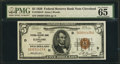 Fr. 1850-D $5 1929 Federal Reserve Bank Note. PMG Gem Uncirculated 65 EPQ