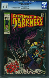 Chamber of Darkness #1 (Marvel, 1969) CGC NM- 9.2 Off-white to white pages