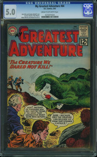 My Greatest Adventure #64 (DC, 1962) CGC VG/FN 5.0 Cream to off-white pages