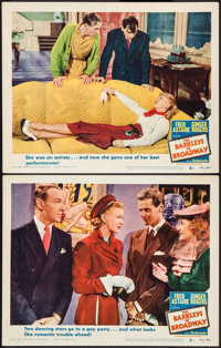 """The Barkleys of Broadway (MGM, 1949). Lobby Cards (2) (11"""" X 14""""). Musical. ... (Total: 2 Items)"""