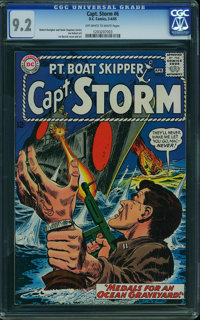Captain Storm #6 (DC, 1965) CGC NM- 9.2 Off-white to white pages