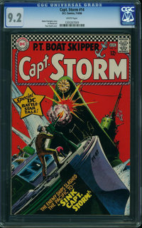 Captain Storm #14 (DC, 1966) CGC NM- 9.2 White pages