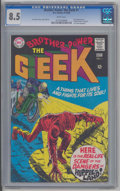 Silver Age (1956-1969):Superhero, Brother Power the Geek #1 (DC, 1968) CGC VF+ 8.5 White pages.