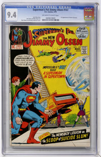 Superman's Pal Jimmy Olsen #147 (DC, 1972) CGC NM 9.4 Off-white to white pages