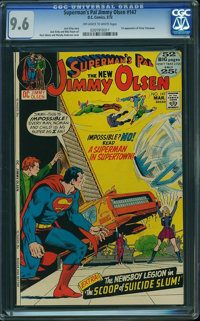 Superman's Pal Jimmy Olsen #147 (DC, 1972) CGC NM+ 9.6 Off-white to white pages
