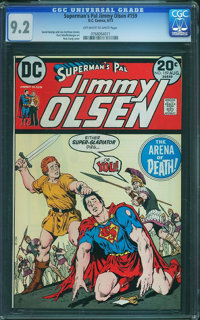 Superman's Pal Jimmy Olsen #159 (DC, 1973) CGC NM- 9.2 Off-white to white pages