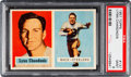 Football Cards:Singles (1950-1959), 1957 Topps Lynn Chandnois #137 PSA Mint 9 - Pop Three, None Higher....