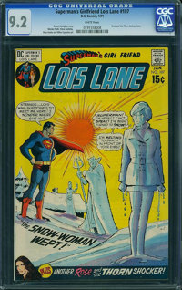 Superman's Girlfriend Lois Lane #107 (DC, 1971) CGC NM- 9.2 White pages