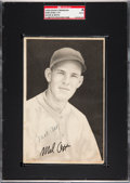 Baseball Cards:Singles (1930-1939), Signed 1939 R303-B Goudey Premiums Met Ott SGC Authentic. ...
