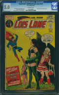Bronze Age (1970-1979):Superhero, Superman's Girlfriend Lois Lane #121 (DC, 1972) CGC VG/FN 5.0Off-white pages.