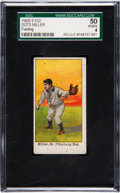 Baseball Cards:Singles (Pre-1930), 1910 E102 Set Of 25 Dots Miller (Fielding) SGC 50 VG/EX 4....