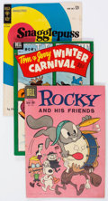Golden Age (1938-1955):Funny Animal, Golden to Silver Age Funny Animal/Walt Disney Related Group of 61(Various Publishers, 1950s-60s) Condition: Average VG.... (Total:61 Comic Books)