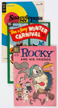 Golden to Silver Age Funny Animal/Walt Disney Related Group of 61 (Various Publishers, 1950s-60s) Condition: Average VG...