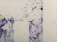 Sam Francis (1923-1994) Untitled, 1974-75 Monotype with mixed media through silkscreen process on pa
