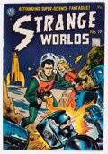 Golden Age (1938-1955):Science Fiction, Strange Worlds #19 (Avon, 1955) Condition: FN....